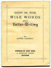 dailystatus terrific new york state letter sackler faculty of carrolls stillrelevant rules for letterwriting open enchanting lewis carroll letter writing and prepossessing how to write a two week notice letter