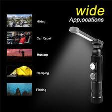 UltraFire <b>W549</b> COB+<b>LED</b> 600LM 5 File <b>USB</b> Camping Work Light 2 ...