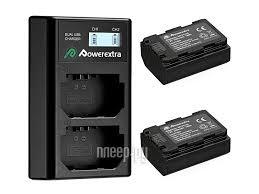 <b>Зарядное устройство Powerextra NP-FZ100</b> +2 аккумулятора ...