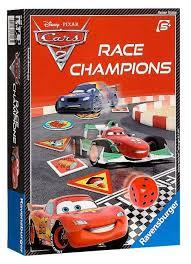 <b>Настольная игра Ravensburger</b> Disney. <b>Тачки</b>-2 Чемпион гонок ...