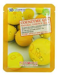 <b>Тканевая 3D маска с</b> коэнзимом Q10 Coyemzyme Q10 Natural ...