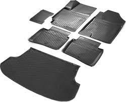 Комплект <b>ковриков салона и багажника</b> Rival для Kia Rio IV ...