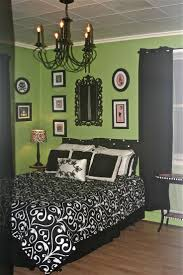 lime green bedroom decorating idea inexpensive beautiful