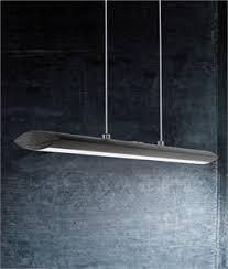 kitchen fluorescent lighting. ultra modern matt black pendant light kitchen fluorescent lighting