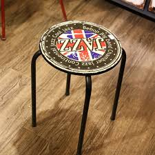 outdoor metal chairs metal stool european retro cheap loft furniture