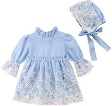 Kid Baby Girls Long Sleeve Lace Formal Party ... - Amazon.com