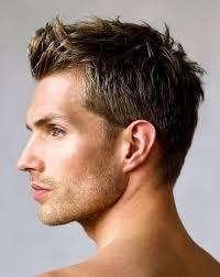 simple short simple mens hair