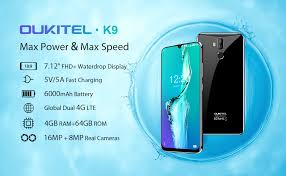 OUKITEL K9 Unlocked Smartphones, 7.12