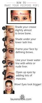 how to make your eyes look bigger all about makeup tips follow cute