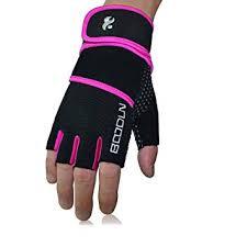 <b>BOODUN</b> Anti-Slip Weightlifting Gloves with Wrist Support <b>Men</b> ...