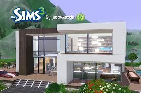 The Sims House Designs   Modern Villa   YouTube