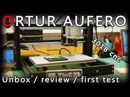 First Look At The <b>Ortur Aufero</b> 3018 <b>CNC Engraving</b> Machine ...