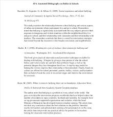 essay bibliography annotated bibliography essay topics apa annotated bibliography example   Google Search   Writing