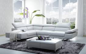 1717 premium leather sectional cado modern furniture 101