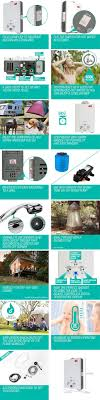 Hot Water Heater Accessories Thermomate Portable Gas Hot Water Heater Crazy Sales