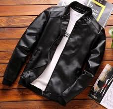 Faux Leather Casual Jacket (2 Colors) в 2020 г. | Одежда для ...