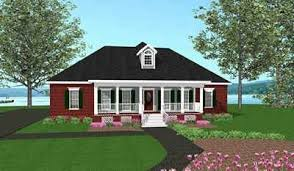 Home Plans  amp  Design   SOUTHERN STYLE HIP ROOF COTTAGE PLANSA List Directory   Search Results