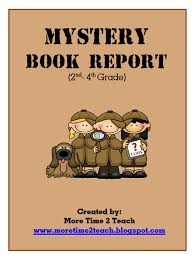Mystery Book Report Cover Page GIF gif Pe Owl Mla Annotated Bibliography