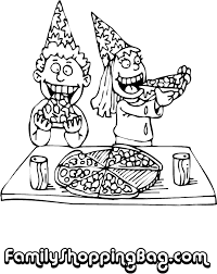 Small Picture Pizza Coloring Pages GetColoringPagescom