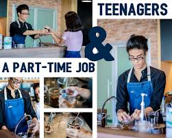 a part time job and teenagers street writers more on part time job