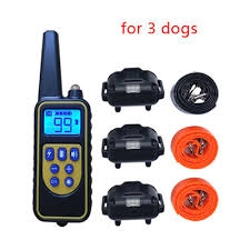 China <b>800</b> Meters Remote Pet Training Collar <b>L880</b> Rechargeable ...