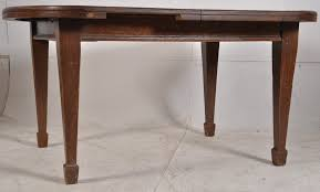 arts crafts oak dining lot  a victorian arts amp crafts oak dining table raised on square tap