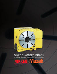 mazak manuals user guides cnc manual nikken mazak rotary table catalog