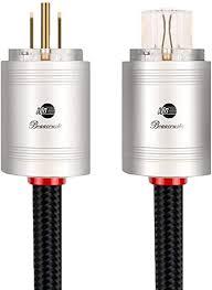 JIB Boaacoustic 4N OFC HiFi Power Cord, Male to ... - Amazon.com