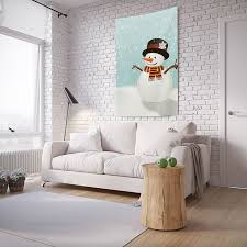 "<b>Панно с фотопринтом на</b> стену JoyArty ""Настроение снеговика ..."