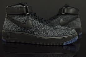 nike air force 1 flyknit black 3 air force 1 flyknit