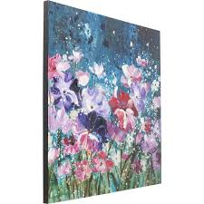 <b>Картина</b> Touched <b>Flower Garden</b> 100x100c купить в: Одессе ...