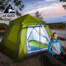 <b>Hewolf</b> Outdoor Camping <b>Tent</b> Double-Layer Waterproof <b>Automatic</b> ...
