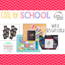 Erin Condren Review and Giftcard Giveaway! - Miss Johnston's ...