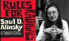 Image result for hillary rules for radicals lucifer pics