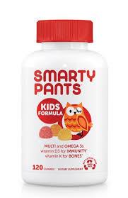 SmartyPants <b>Kids Formula Multi and</b> Omega 3s Vitamin D3 an...