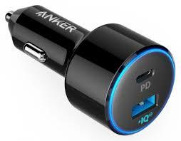 Купить <b>автомобильное зарядное устройство Anker</b> PowerDrive 2 ...