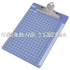grids pattern plastic a5 file menu paper clip board indigo blue a5 clipboard clip boards