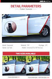 Car Door Edge Scratch <b>Protector</b> Strips <b>Auto</b> Stickers <b>Protector</b> Seal ...
