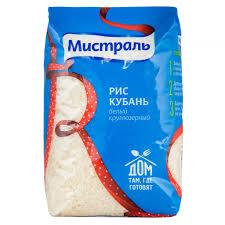 <b>Мистраль</b>. Крупа рисовая фасованная. Белый круглозерный <b>рис</b> ...