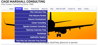 airline pilot hiring interview prep services cage consulting website link