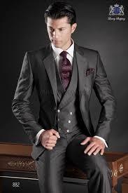 <b>Italian bespoke</b> gray wedding suit style 882 Ottavio Nuccio Gala ...