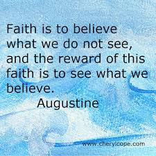 Quotes About Faith And Believing. QuotesGram via Relatably.com