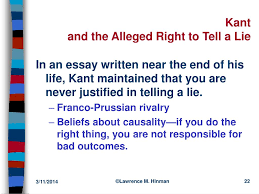 ppt immanuel kant and the ethics of duty powerpoint presentation conclusion