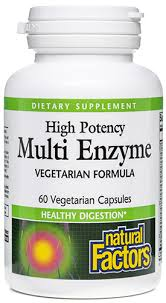 <b>Multi Enzyme High Potency</b> by Natural Factors