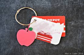 GIFT CARD ORGANIZER RING Mad in Crafts