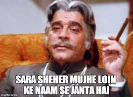 Top 5 evergreen Bollywood villian dialogue... Teja Main hu Mark ... via Relatably.com