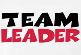 what do you know about being a team leader