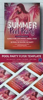 pool party invitation psd format pool party invitation