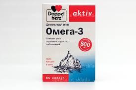 <b>Доппельгерц Актив Омега</b>-<b>3</b> капс N 80 купить в Пермь, описание и ...