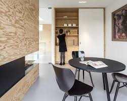 natural adorable design of the modern black office architecture that has grey floor can be decor building office pantry